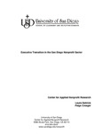 2006 Report on Nonprofit Executive Transition by Laura Deitrick and Paige Creager
