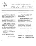 USD Nurses' Honor Society Newsletter (1979 01.01)