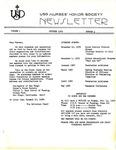USD Nurses' Honor Society Newsletter (1979 01.02)