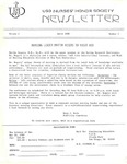 USD Nurses' Honor Society Newsletter (1980 01.04)