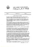 USD Nurses' Honor Society Newsletter (1980 02.06)