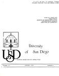 USD Nurses' Honor Society Newsletter (1981 03.02) by Sigma Theta Tau. Zeta Mu Chapter (University of San Diego)