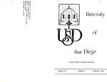 USD Nurses' Honor Society Newsletter (1981 03.07) by Sigma Theta Tau. Zeta Mu Chapter (University of San Diego)