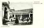 France - Paris - La Cour du Petit Palais