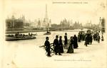 Perspective vue de la Place de la Concorde