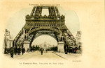 Le Champ-de-Mars, Vue prise du Pont d'Iéna