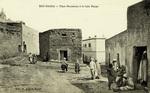 Algeria – Bou-Saâda, Place Mouamine et le bain Maupe