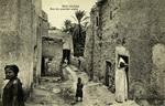 Algeria – Bou-Saâda, Rue de quartier arabe