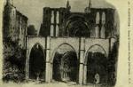 Marmoutier - Ruines de l'ancienne Basilque (côté Ouest)