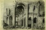 Marmoutier - Ruines de l'ancienne Basilque (côté Est)