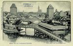 Strassburg - Blick von den Gedeckten Brücken