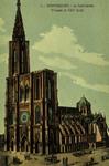 Strasbourg - La Cathédrale (Façade et Côté Sud)