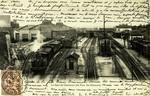La Gare de Chaumont (du Pont des Flâneurs)