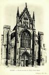 Reims - Façade latérale de l'Église Saint-Remi