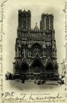 Reims - Façade de la Cathédrale