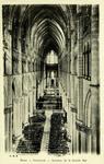 Reims - Cathédrale - Intérieur de la Grande Nef