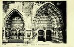 Reims - Cathédrale - Porches du Portail Septentrional