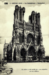 Reims (1918) - La Cathédrale - Cathedral
