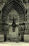 Reims - Statue de Jeanne d'Arc