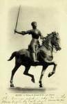 Reims - Statue de Jeanne d'Arc, par Dubois