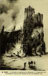 Reims - La Cathédrale incendiée par les Allemands le 19 Septembre 1914