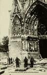 Reims - La Cathédrale de Reims après le Bombardement