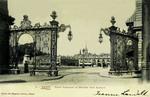 Nancy - Place Stanislas et Grilles Jean Lamour