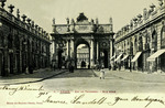 Nancy - Arc de Triomphe - Rue Héré