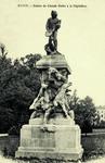 Nancy - Statue de Claude Gelée à la Pépinière