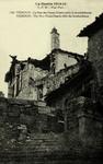 Verdun - La Rue des Hauts-Degrés après le bombardement