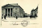 Bergerac - Le Palais de Justice et la rue du Marché