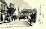 Bergerac - Le Cours Alsace-Lorraine et l'Église Notre-Dame