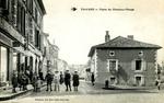 Thiviers - Place du Chapeau-Rouge