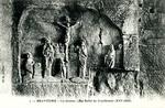 Brantome - Les Grottes - Bas-Relief du Crucifiement