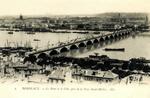 Bordeaux - Le Pont et la Ville, pris de la Tour Saint-Michel