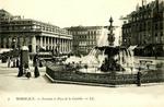 Bordeaux - Fontaine et Place de la Comédie