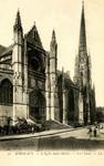 Bordeaux - L'Église Saint-Michel - Côté Nord