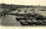 Bordeaux - Les Quais - Vue prise du Pont