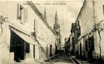 Branne (Gironde) - Grande rue de l'Eglise