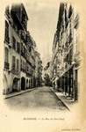 Bayonne - La Rue du Port Neuf