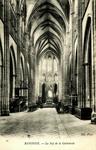 Bayonne - La Nef de la Cathedrale