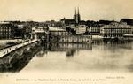 Bayonne - Le Pont Saint-Esprit, la Porte de France, la Cathedrale et le Theatre