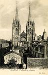 Bayonne - Façade de la Cathedrale