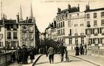 Bayonne - Rue Victor Hugo et le Pont Marengo