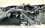 Biarritz - La Passerelle et le Semaphore