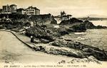 Biarritz - La Villa Belza et l'Hotel Château de Falaises