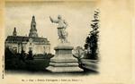 Pau - Statue d'Artagnan