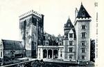Pau - Château de Pau - Entrée Cour d'Honneur