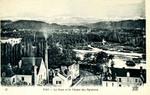 Pau - Le Gave et la Chaîne des Pyrénées