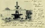 Limoges - Fontaine du Square de l'Hôtel-de-Ville